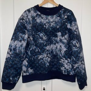 Louis Vuitton tapestry sweater